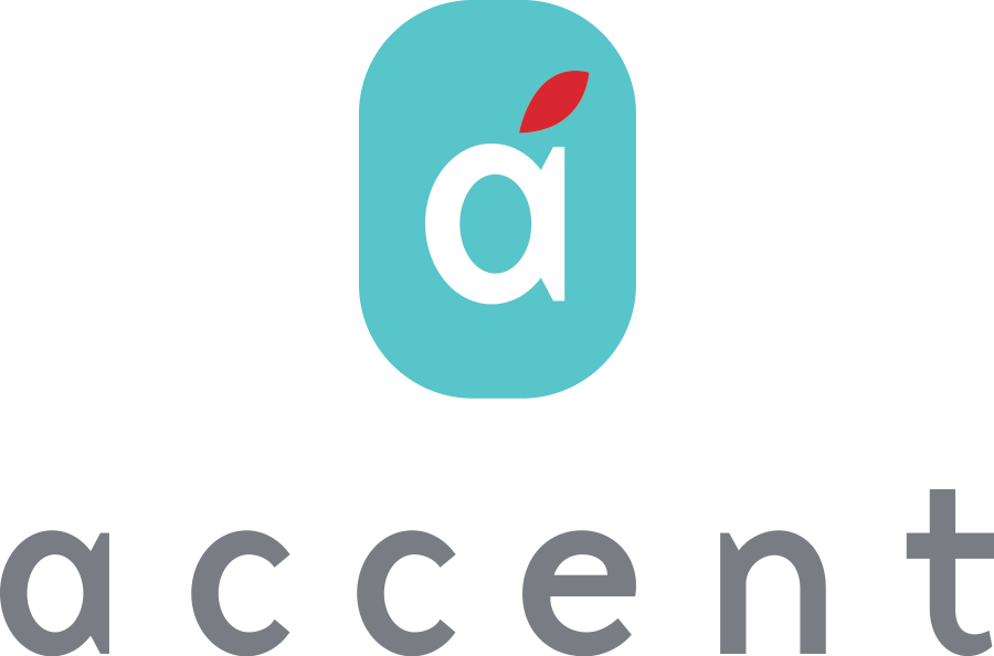 Accent logo at Accent, Los Angeles, CA, 90066