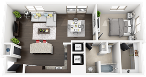 Accent Apartments - Plan A3