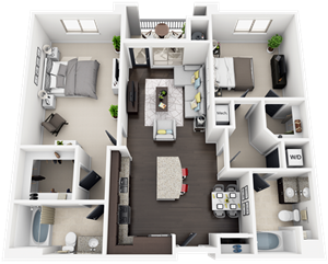 Accent Apartments - Plan B2