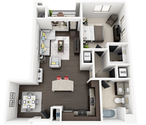 Accent Apartments - Plan B3M