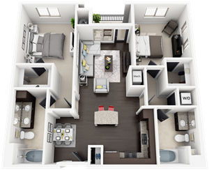 Accent Apartments - Plan B4