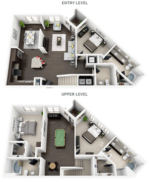 Accent Apartments - Plan C1