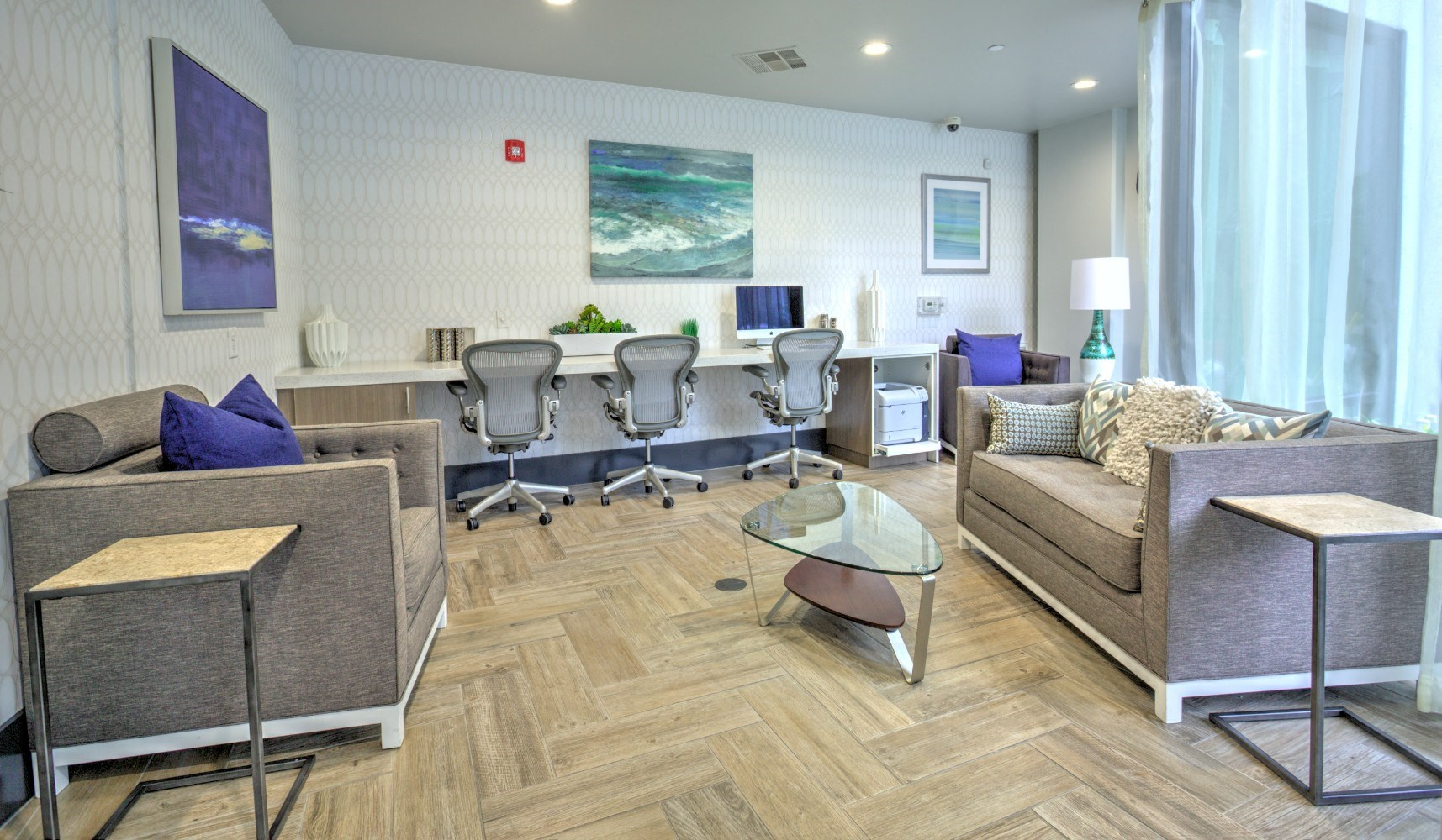 Work Space at Accent apartments, Playa Vista, 90066
