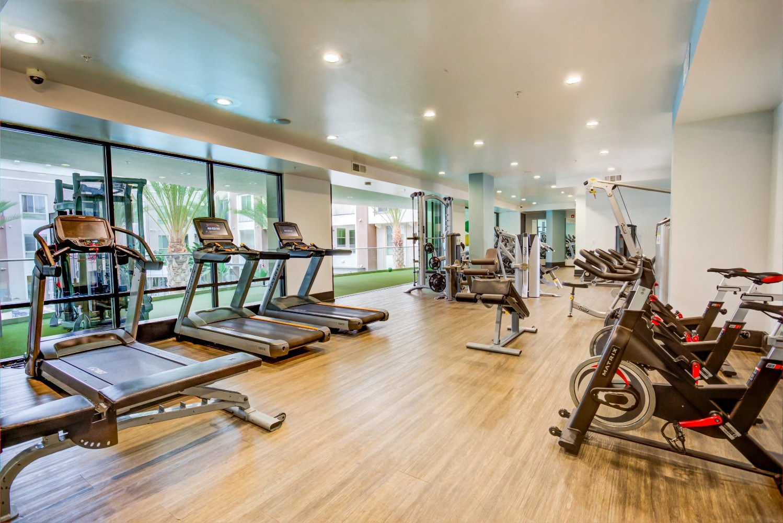 Fitness center, California, 90066