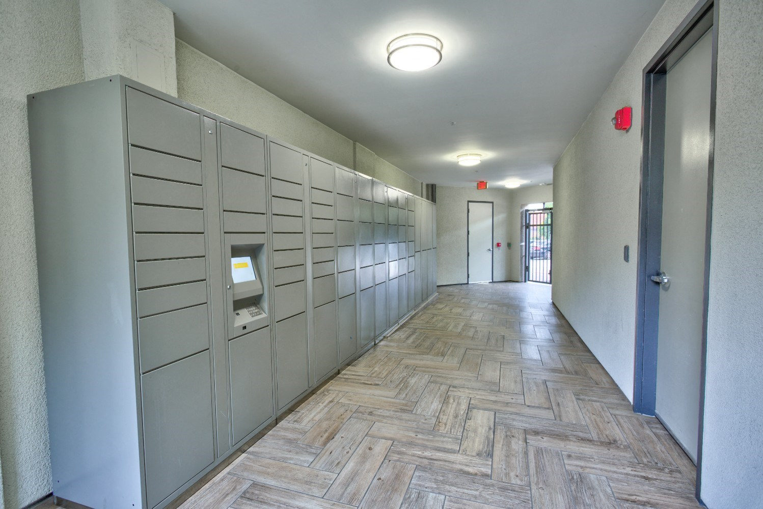 Package receiving at Accent apartments, California, 90066