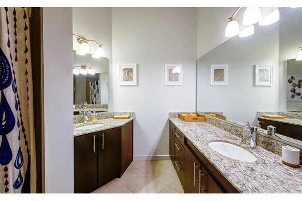 Dual Vanity Bathroom