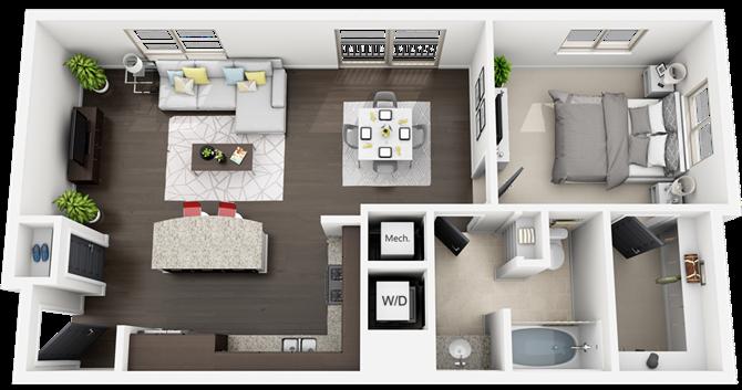 plan A3 Floor Plan 3
