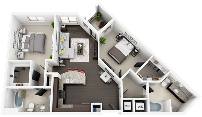 plan B1 Floor Plan 6