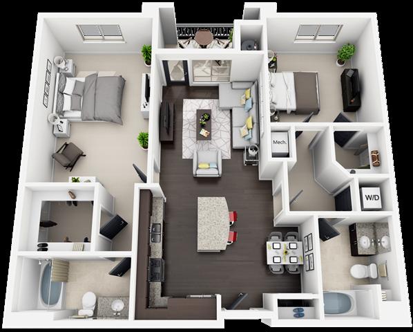 plan B2 Floor Plan 7