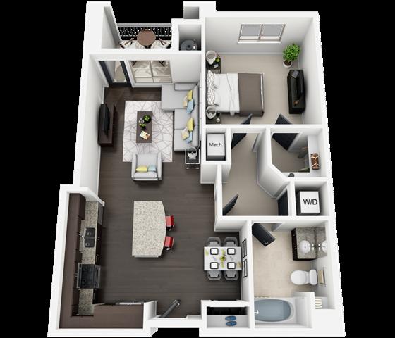 plan B2M Floor Plan 4
