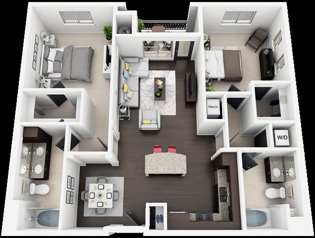 plan B3 Floor Plan 8