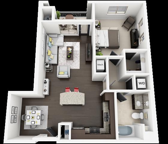 plan B3M Floor Plan 5