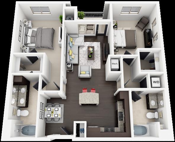 plan B4 Floor Plan 9