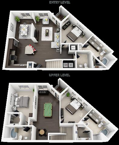 plan C1 Floor Plan 12