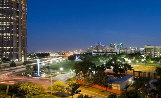 Dallas, TX City View