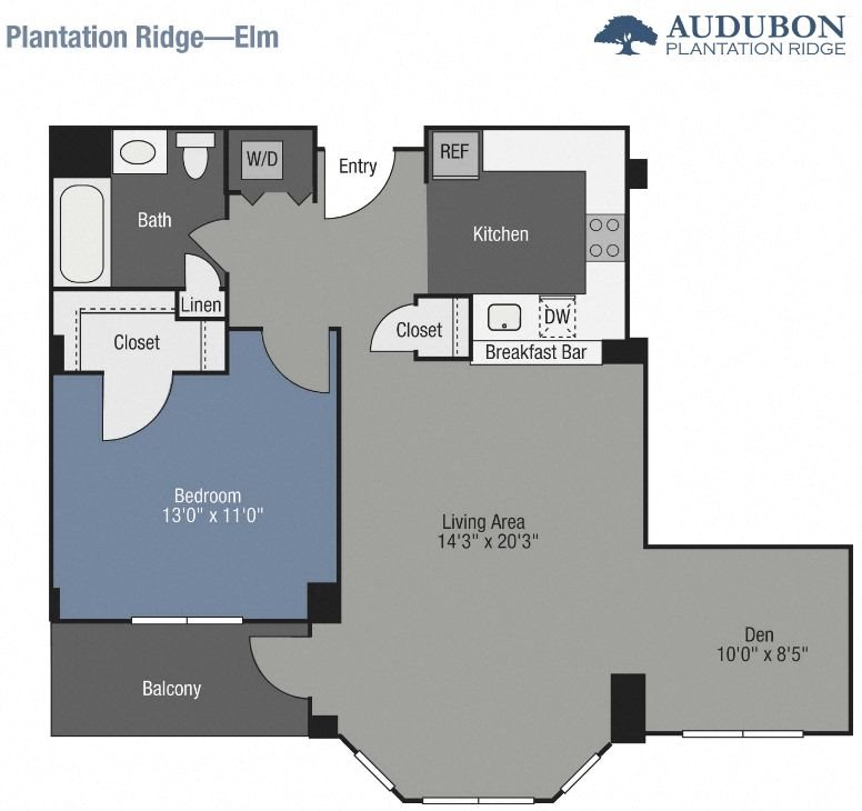 Elm (Den) Floor Plan 4