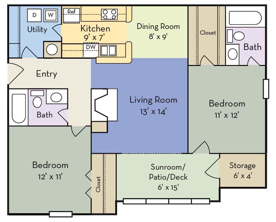 The Hartley Floor Plan 2