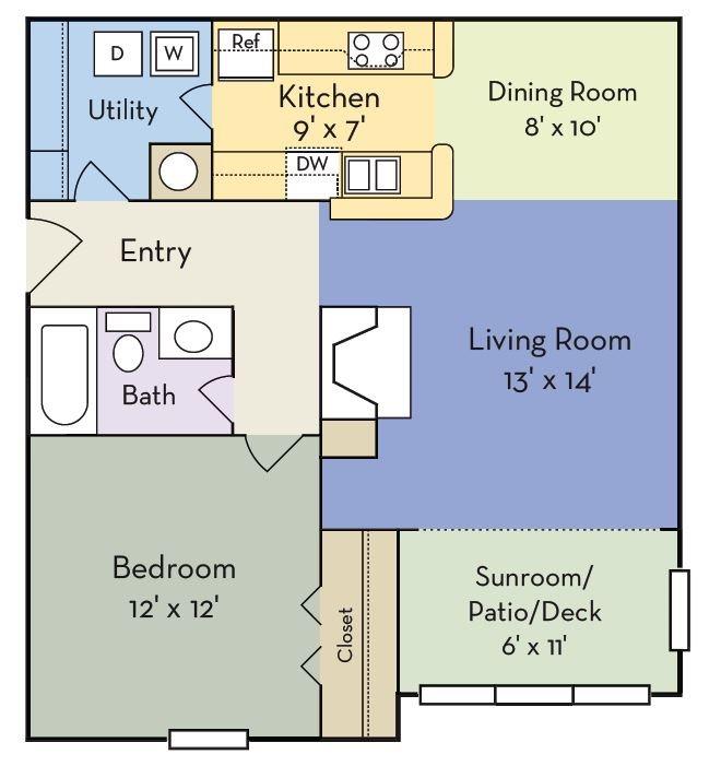 The Riley Floor Plan 1