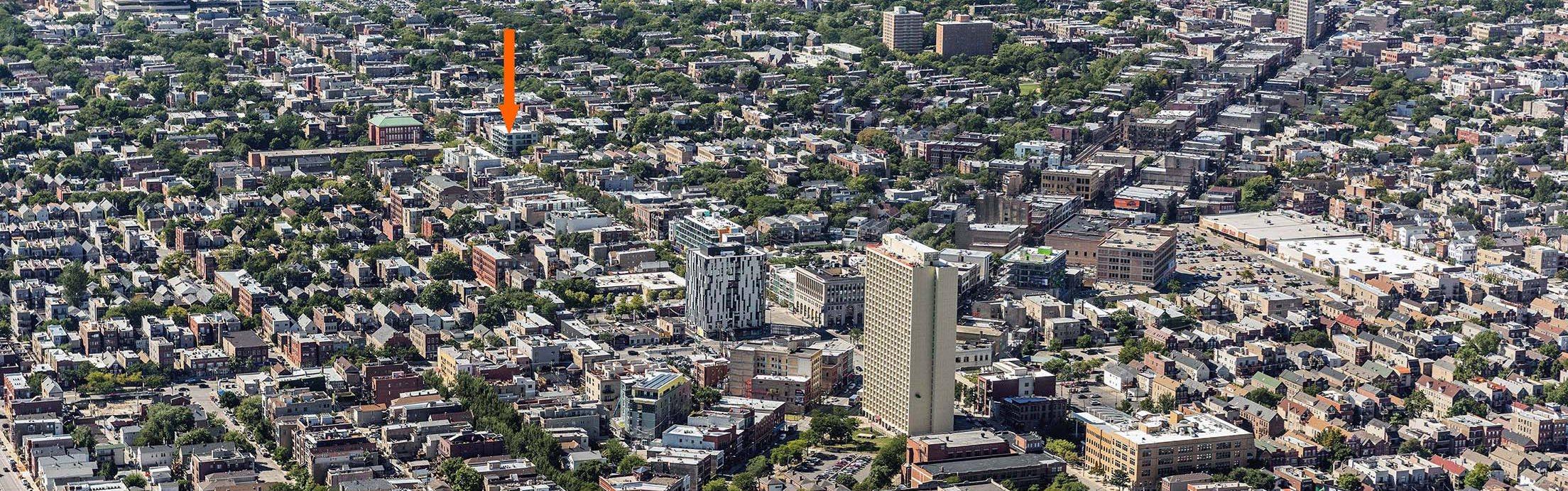 WIcker Park Aerial