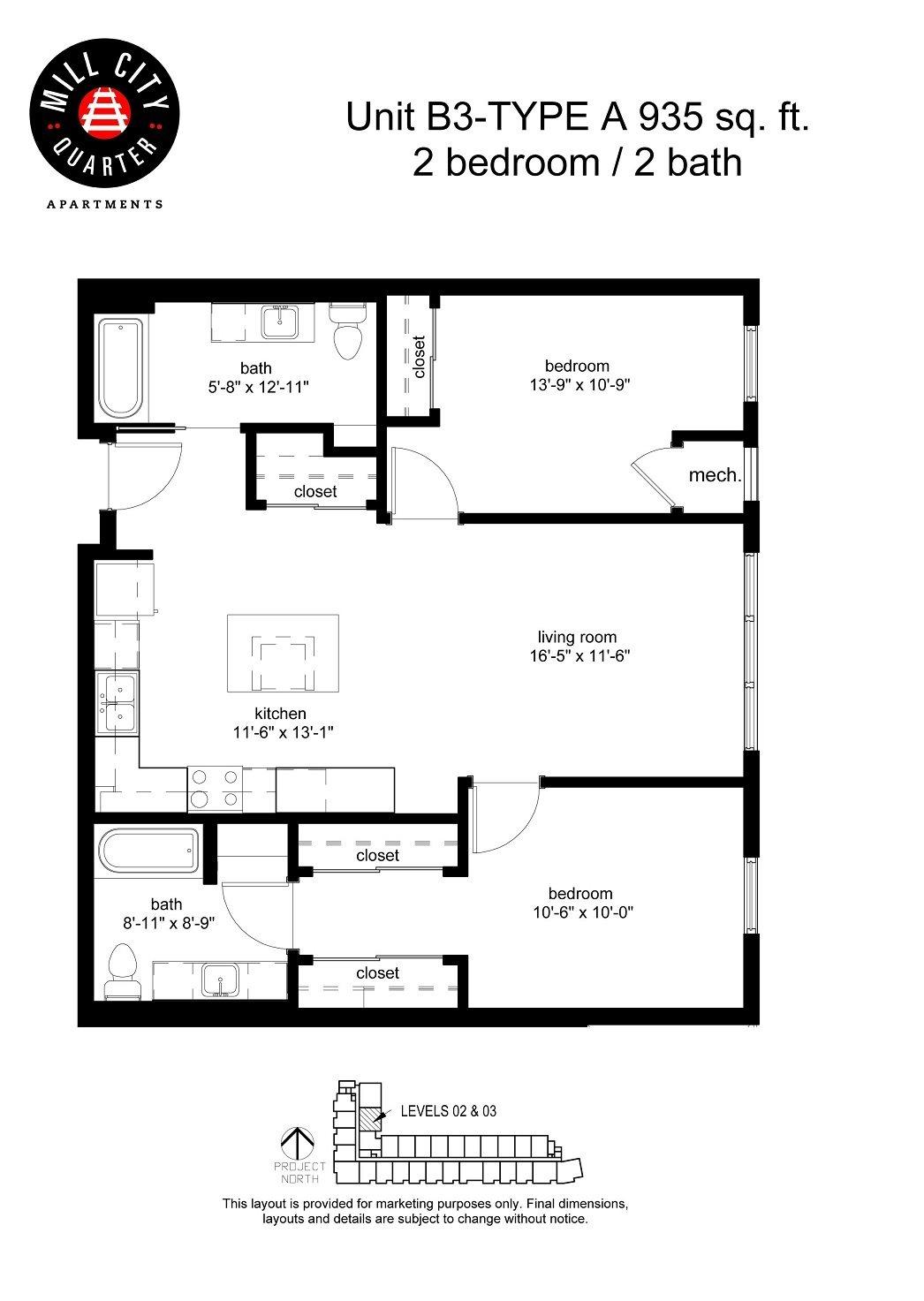 2x2 Floor Plan 8