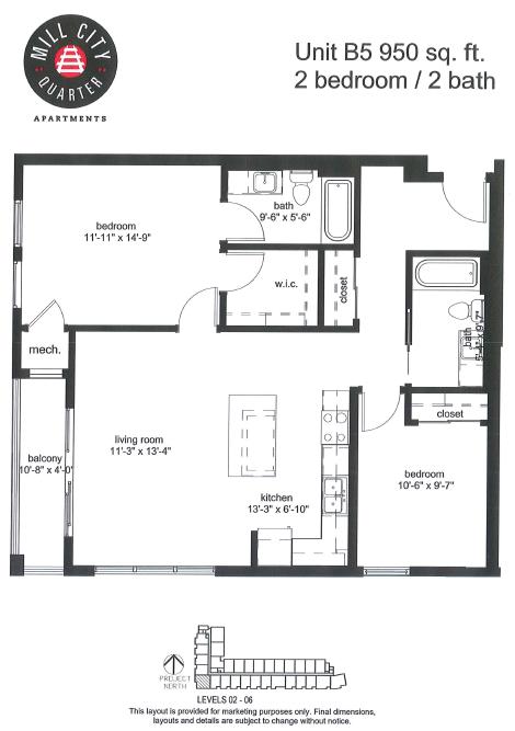 2x2 Floor Plan 10