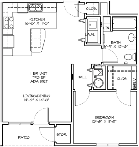 Floor Plans Of Summit Falls In Lincoln Ne