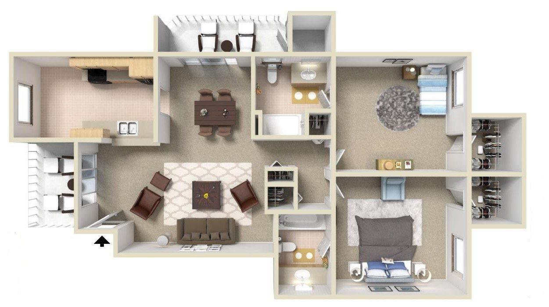 C4 Floor Plan 3