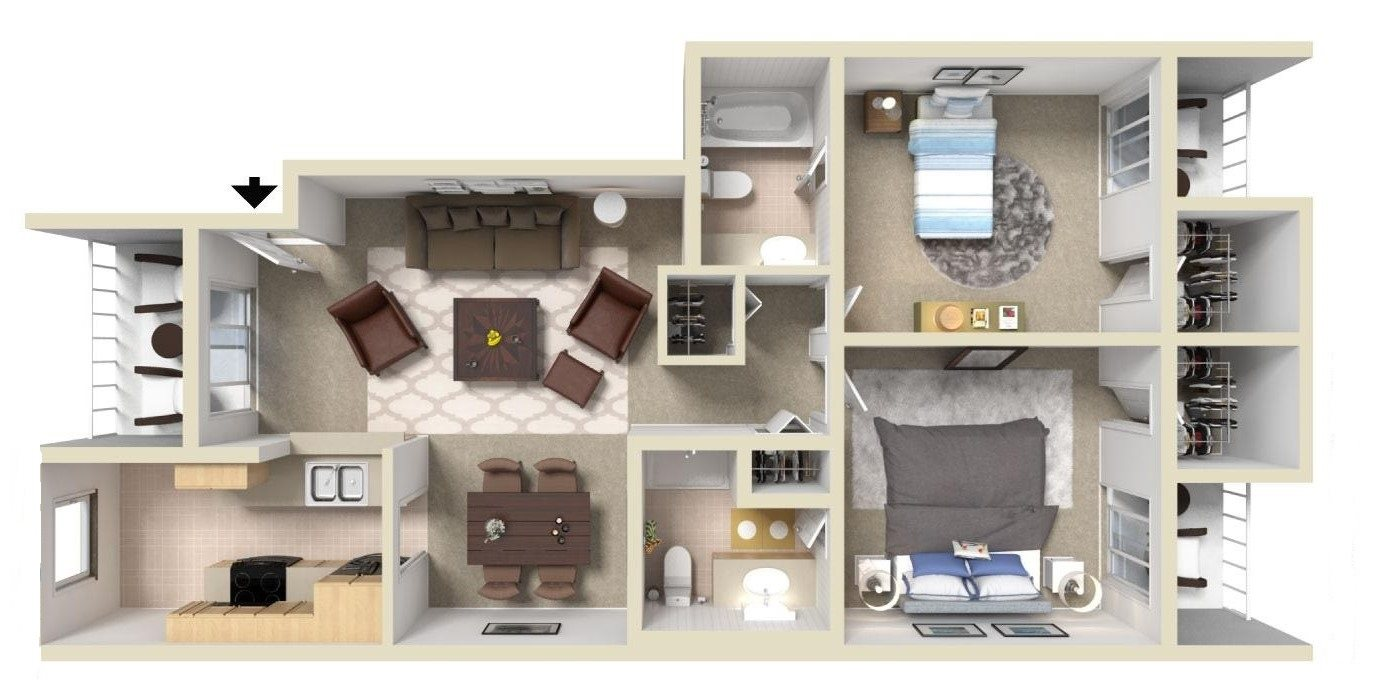 C1 Floor Plan 2