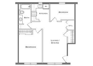 2 Bedroom - Second Floor