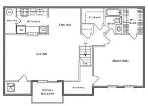 Birchwood II - 1 Bedroom