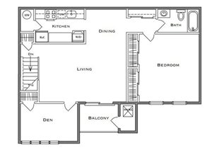 Dogwood - 1 Bedroom Den