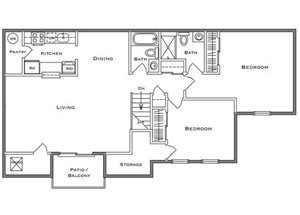 Redwood II - 2 Bedroom