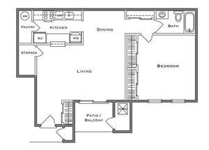 Sequoia - 1 Bedroom