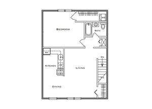 1 Bedroom Classic - First Floor