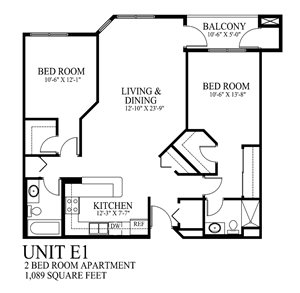 Two Bedroom Apartment Cathedral Hill