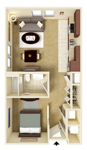 Studio Apartment Home