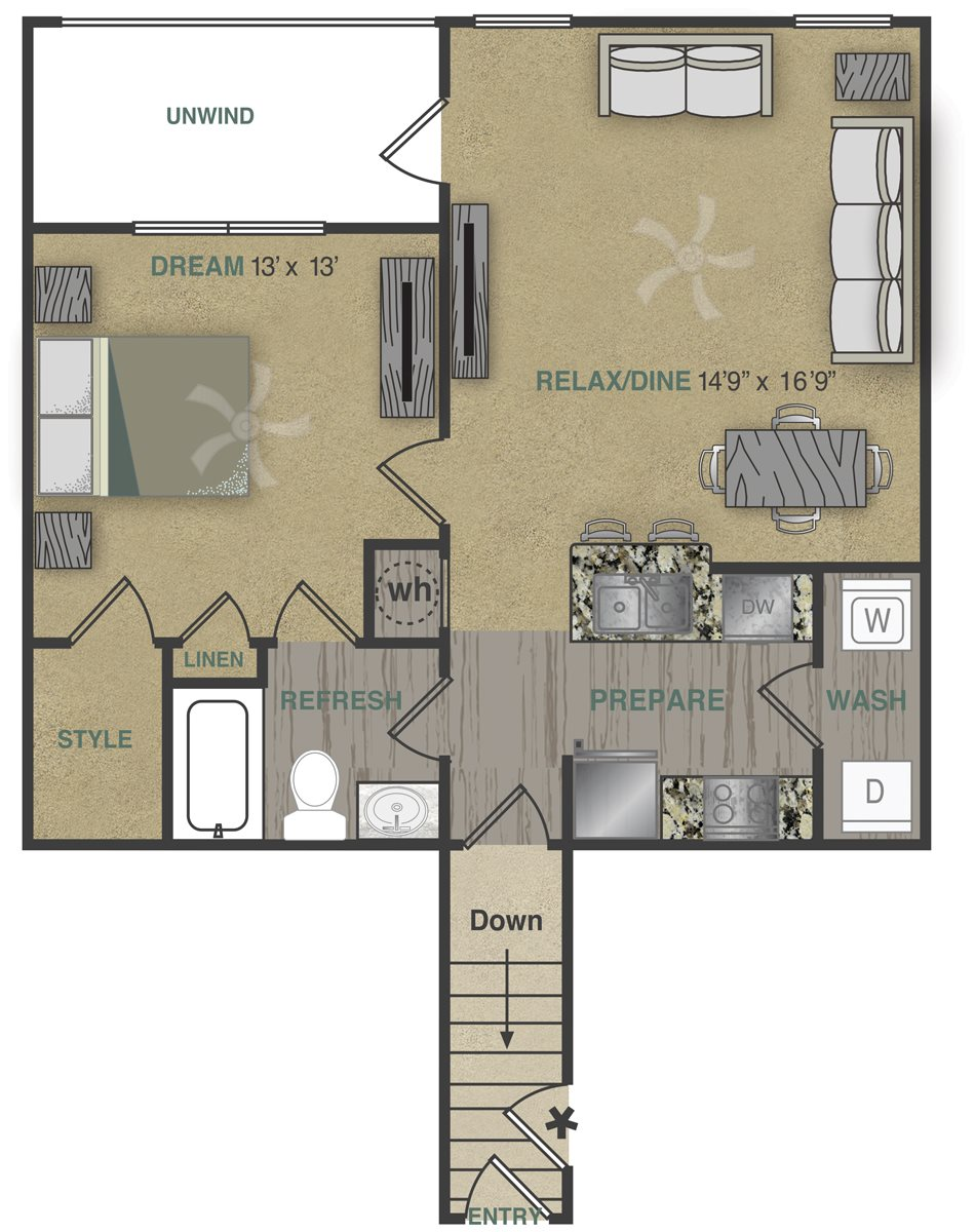 A1UG Floor Plan 19