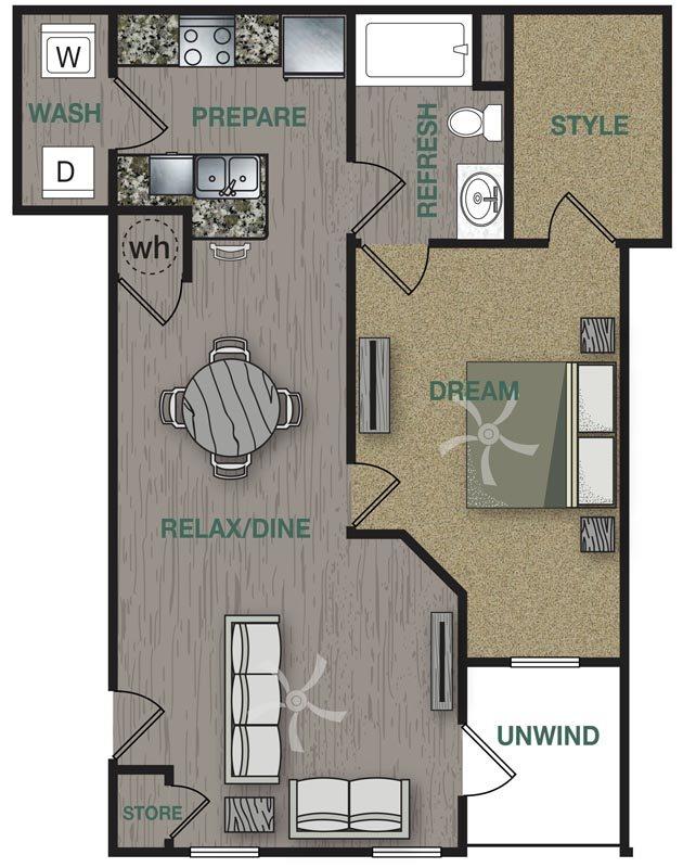 A2L Floor Plan 2