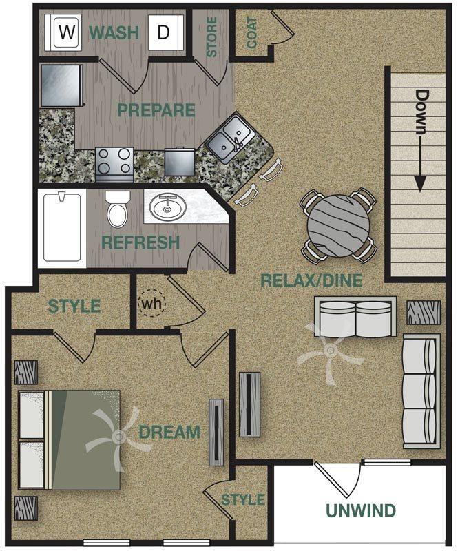 A2U Floor Plan 3