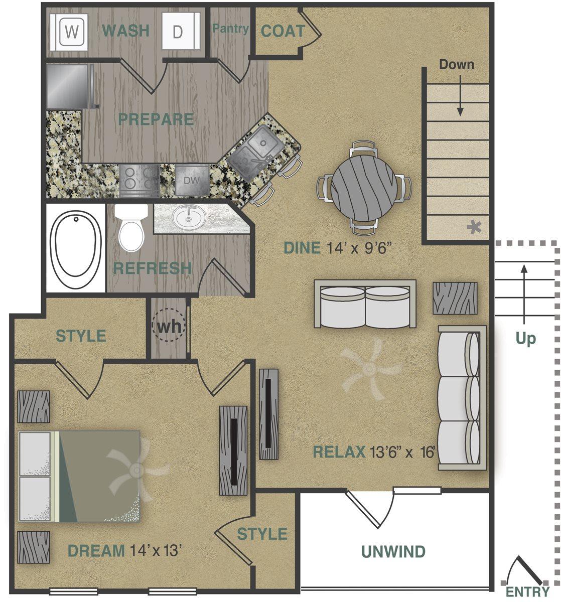 A2UG Floor Plan 4