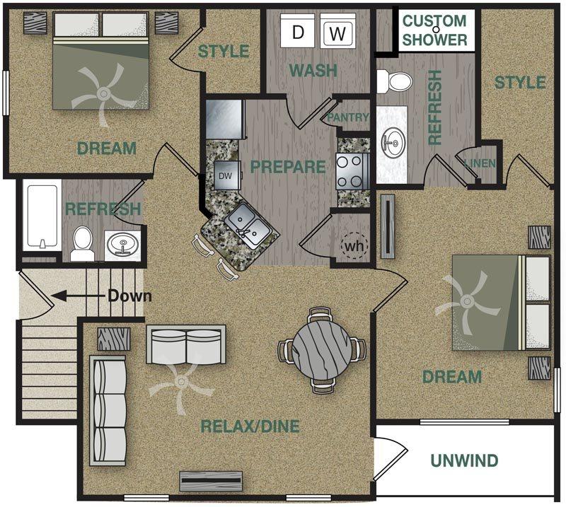 B1U Floor Plan 6