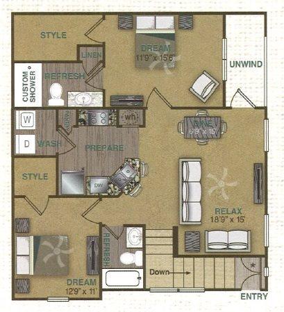 B1UG Floor Plan 7
