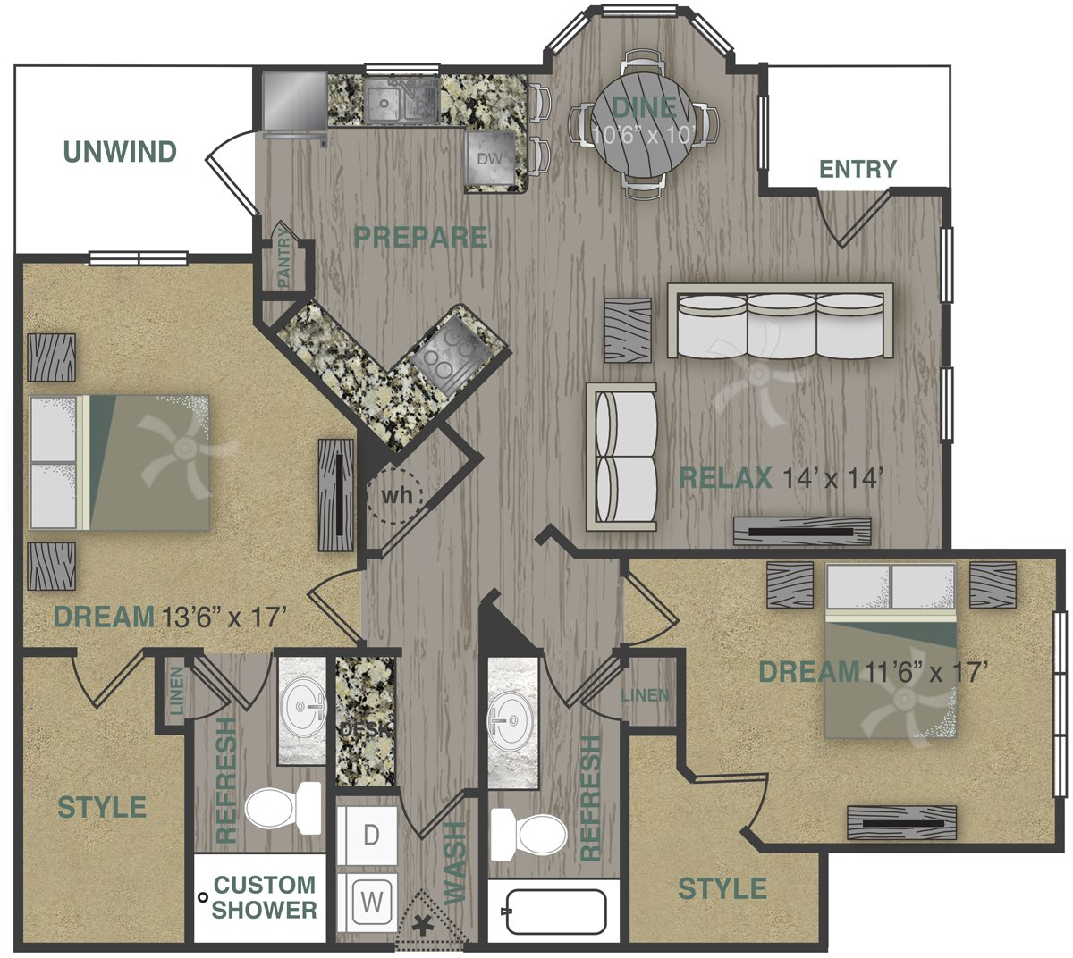 B2LG Floor Plan 9