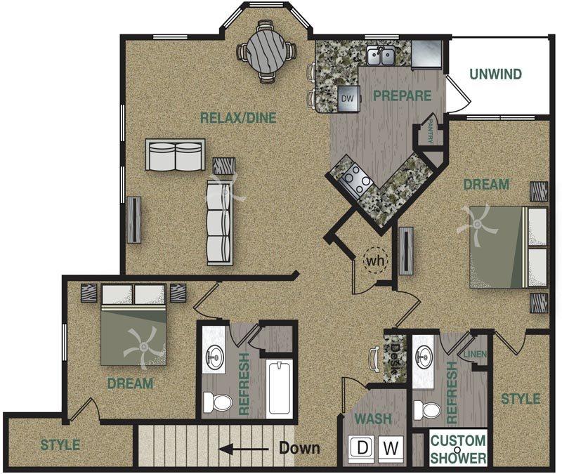 B2U Floor Plan 10