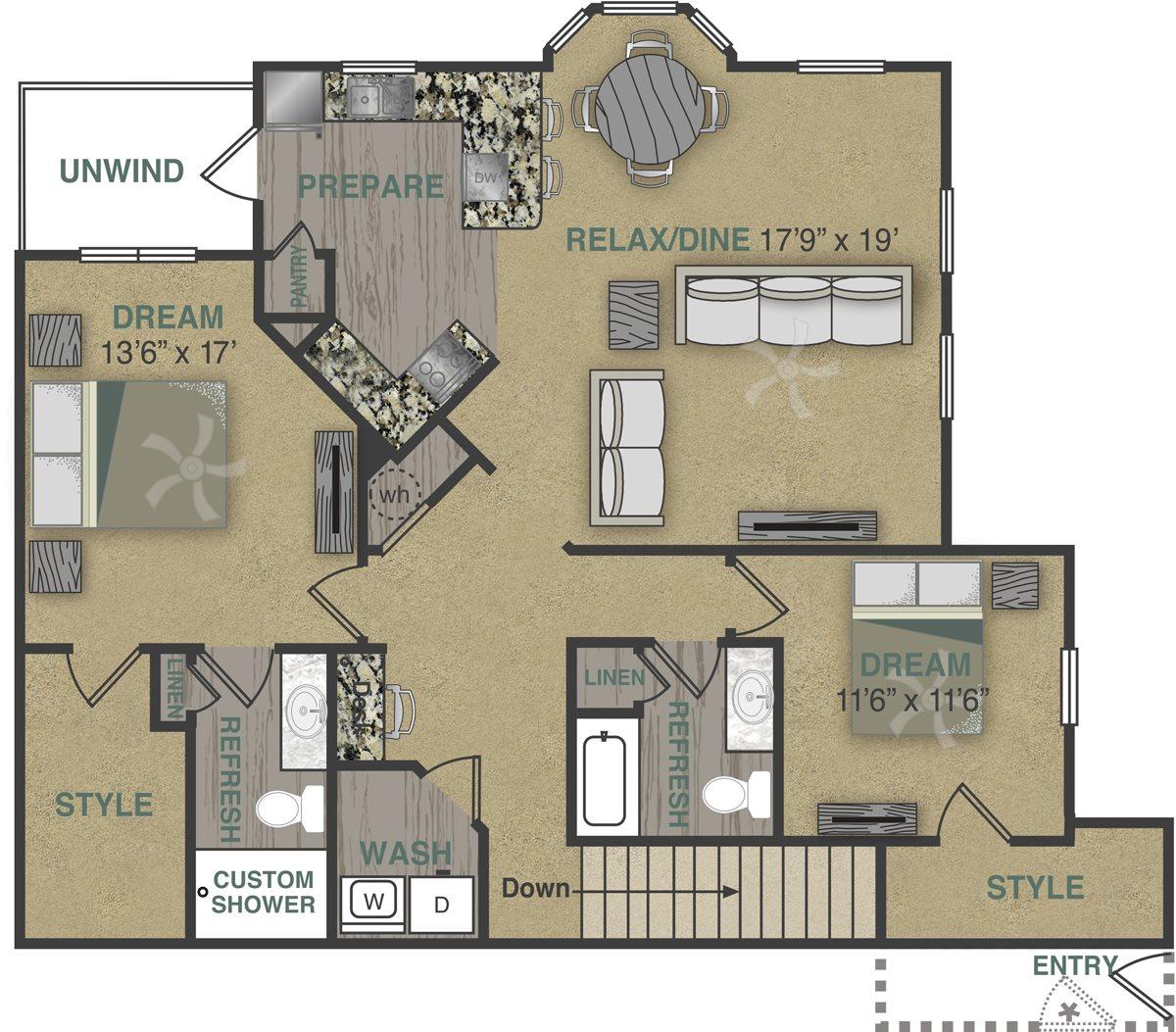 B2UG Floor Plan 11