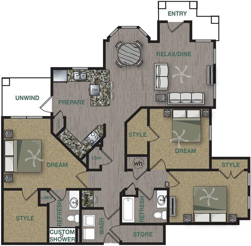 C1L Floor Plan 14