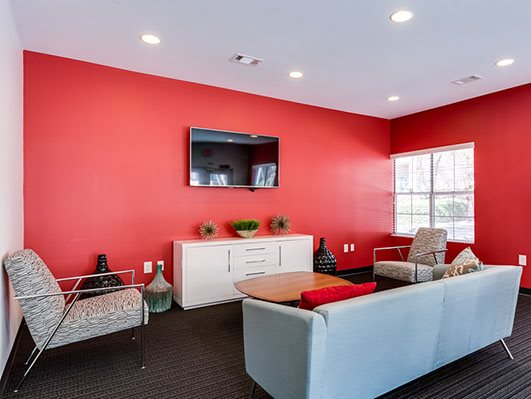 Beautifully Remodeled Resident Lounge at Nesbit Palisades, Alpharetta,Georgia