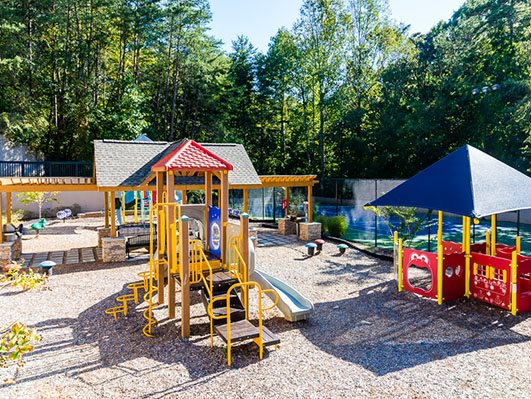 Children's Playground at Nesbit Palisades, Alpharetta