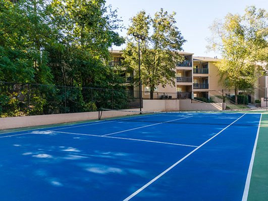 Synthetic Tennis Courts at Nesbit Palisades, Alpharetta, 30022