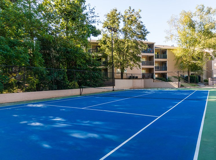 Lighted Tennis Court at Nesbit Palisades, Alpharetta, 30022